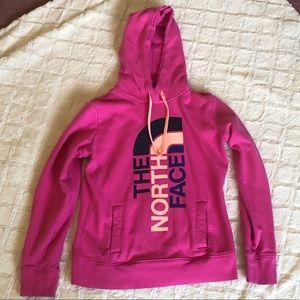The North Face Pink Pullover Sweatshirt